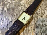 Cartier カルティエ マストタンク手巻き式時計の修理 - トライフル・西荻窪・時計修理とアンティーク時計の店