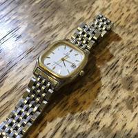 オメガ シーマスターレディースクオーツ腕時計の修理 - トライフル・西荻窪・時計修理とアンティーク時計の店