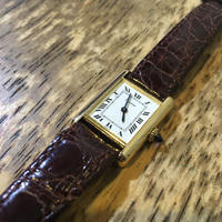 カルティエタンクルイ時計修理 - トライフル・西荻窪・時計修理とアンティーク時計の店