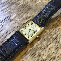 カルティエ マストタンククオーツ時計修理 - トライフル・西荻窪・時計修理とアンティーク時計の店