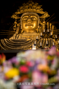 虚空蔵菩薩坐像 大仏さまの脇侍 花まつり merry-shaka Merry Buddha festival in the Todaiji temple. - 奈良と  大和写真家™「影向」 Nara and Japanism by高畑写真事務所