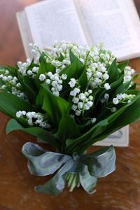【お申込み受付終了】Bouquet de Muguet スズランのブーケ(花束)レッスン開催のご案内 - La Petite Cloche プチクローシュ