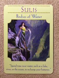 月曜のメッセージ:女神のガイダンス・オラクルカード:スリス - じぶんを知ろう♪アトリエkeiのスピリチュアルなシェアノート
