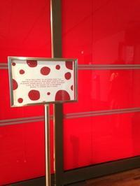 """赤いドット(水玉)と言えば・・・ ☆ 草間彌生展 at シンガポール国立美術館(☆正式名称について) - Singaporeグルメ☆"""" Ⅱ"""