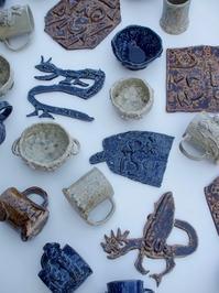 こども陶芸体験の作品 - KOSA日記