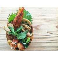 揚げ物三連発BENTO - Feeling Cuisine.com