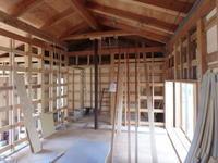 現場から(内部下地工事2) - 吉田建築計画事務所-プロジェクト-