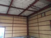 天井裏仕込みエア配管工事 - コンプレッサーの販売、修理  五条エアマシン㈱社長のブログ