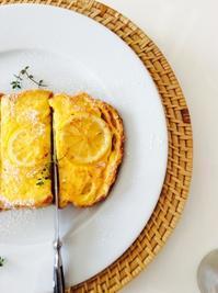 朝ごはん*レモンフレンチトースト - E*N*JOY