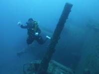 熱い2日間の〆~USSエモンズガイド付きボートダイビング(ファンダイビング)~ - 大度海岸(ジョン万ビーチ・大度浜海岸)と糸満でのシュノーケリング・ダイビングなら「海の遊び処 なかゆくい」