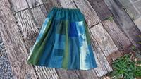 春風にそよぐ 蚊帳オーバースカート 2 - 古布や麻の葉