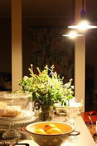 夜のキッチン風景 - Rose ancient 神戸焼き菓子ギャラリー