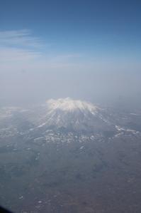 藤田八束のANAの旅@霊場岩木山を上空から拝む・・・ANA絶景写真 - 藤田八束の日記