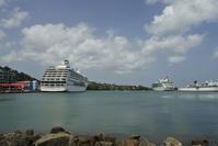 カリビアンクルーズ:ハイエンドな島・Gastries, St. Lucia - 転々娘の「世界中を旅するぞ~!」
