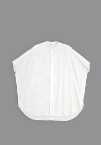 FIRMUM/フィルマム20/- Cotton Sheeting Wide Shirt (Off White) - un.regard.moderne
