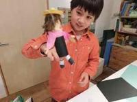 おさんぽ人形 - キッズクラフト子ども絵画造形教室・大阪市淀川区と豊中・箕面
