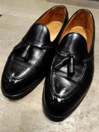 【EDWARD GREEN #BELGRAVIA】力強さとラグジュアリーを感じさせるタッセルローファー - シューケアマイスター靴磨き工房 銀座三越店