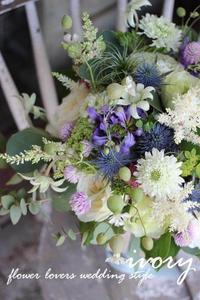 『週末の婚礼から〜♬』 -  Flower and cafe 花空間 ivory (アイボリー)