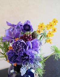 New! 2017春季公開講座のご案内「Décoration Florale―デコラシオンフローラル」【芸術文化】明日館の食堂でいける水曜19:00 〜20:30 - Bouquets_ryoko