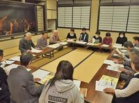 賑わい事業の打ち合わせ会議がありました - 浦佐地域づくり協議会のブログ