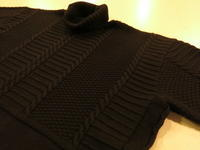 """TheThreeRobbers MERINO WOOL KNIT TURTLE NECK""ってこんなこと。 - THE THREE ROBBERS ってこんなこと。"