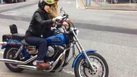 あこちゃん初ツー❤️ - gee motorcycles