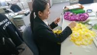 今週末は笑顔の花冠プロジェクト~日本一周花冠パレード受渡式~ - CAROLLA IWAKI