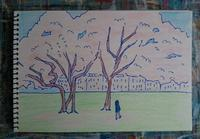 Day2 快晴のザグレブ - たなかきょおこ-旅する絵描きの絵日記/Kyoko Tanaka Illustrated Diary