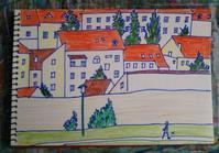 Day4 ザグレブからドゥブロヴニクへ - たなかきょおこ-旅する絵描きの絵日記/Kyoko Tanaka Illustrated Diary