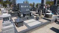 福山市蔵王やすらぎ霊苑洋型墓施工例 - お墓