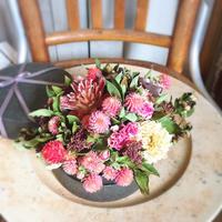 4月の1dayレッスン② - driedflower arrangement ✦︎ botanical accessory ✦︎ yukonanai ✦︎ gland*