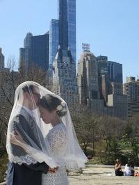 Bridal Photo Tour中国からのカップルさん - NYの小さな灯り ~ヘアメイク日記~