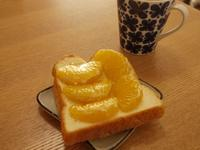オレンジはちみつ食パン* - ほっこり*