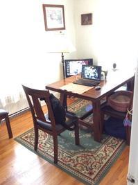 模様替え:ダイニングテーブルの向き - にゃんこと暮らす・アメリカ・アパート