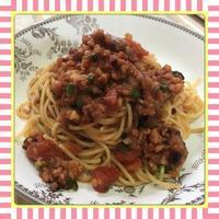 タコのラグーソースパスタ(レシピ付) - kajuの■今日のお料理・簡単レシピ■