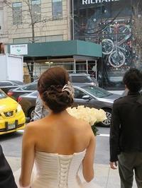 クラシカルヘアの花嫁さん - NYの小さな灯り ~ヘアメイク日記~