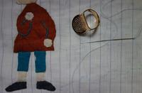 必需品な指ぬき - 糸巻きパレットガーデン