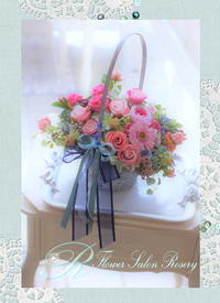 カゴバック - FlowerSalonRosery