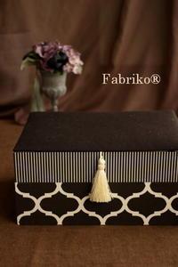 卒業制作・オリジナル作品できました!・2 - Fabrikoのカルトナージュ ~神戸のアトリエ~
