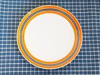 ☆本日のPICK UP☆ドイツ円形のお皿オレンジ - 東欧雑貨店 Glucklich (グリュックリッヒ)の日記