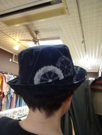 紬の帽子 - がちゃぴん秀子の日記