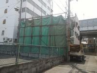 東住吉区田辺6丁目既存建物解体工事 - 太陽住宅ブログ