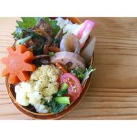 豆鼓入りレバニラ炒めBENTO - Feeling Cuisine.com