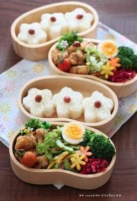 から揚げ ✿ 新玉たっぷり生姜焼き(๑¯﹃¯๑)♪ - **  mana's Kitchen **