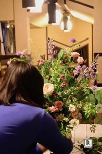 花のかたちマスアレンジメント - Bouquets_ryoko
