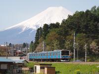 富士の雄姿と芝桜ヘッドマーク - 富士急行線に魅せられて…(更新休止中)