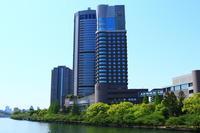 新緑と帝国ホテル大阪 - 司法書士 行政書士の青空さんぽ