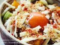 スパイス薬膳♪カラフルトマトの宝石箱ドリア。 - スパイスと薬膳と。