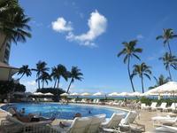 2016年6月27日プールでのんびりできる最後の日 - ハワイでも のんびりいこうやぁ