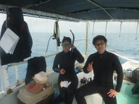 大型連休後半スタート!~糸満近海ガイド付きボートダイビング(ファンダイビング)~ - 大度海岸(ジョン万ビーチ・大度浜海岸)と糸満でのシュノーケリング・ダイビングなら「海の遊び処 なかゆくい」